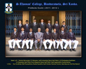 2011/2012 Prefects and Monitors