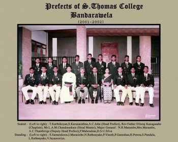 2001/2002 Prefects