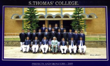 2009/2010 Prefects and Monitors
