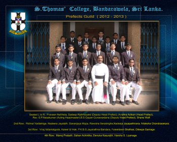 2012/2013 Prefects Guild