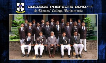 2010/2011 Prefects and Monitors