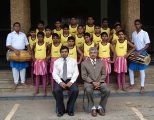 The primary school Dance Troupe of S. Thomas' College, Bandarawela