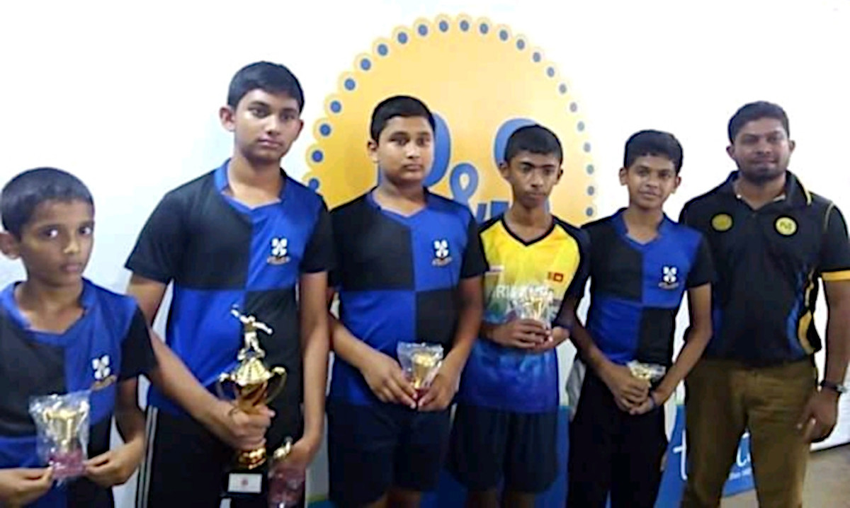 Inter School Table Tennis Team Championship