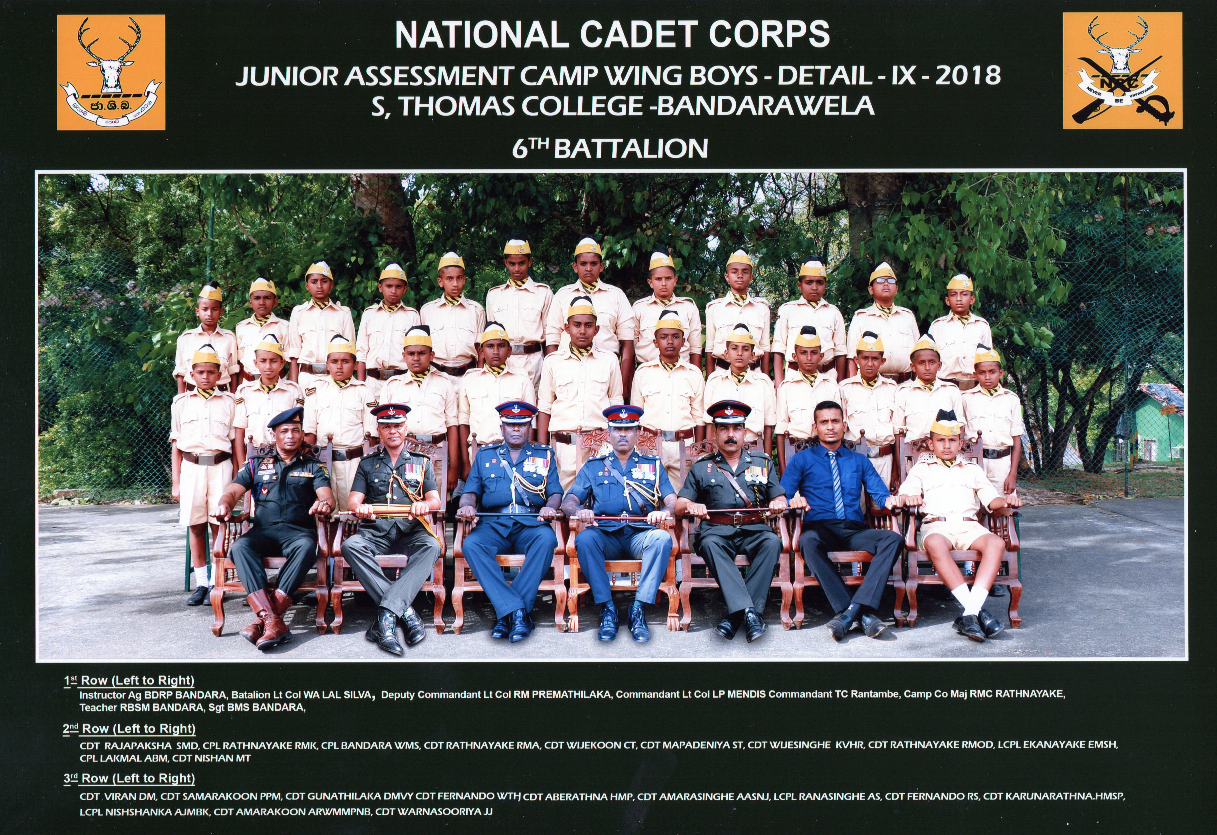 Junior Cadet Platoon