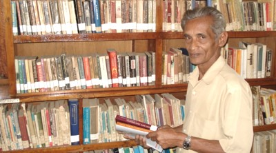 Mr. S.A. Mohomed has been faithfully serving the School / College Library for more than 20 years